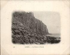 Campagne DUGUAY-TROUIN 1902-1903 - Expédition - DAKAR - SENEGAL - Gorée - Falaise De Basalte - Bateaux