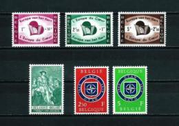 Bélgica  Nº Yvert  1090/2-1093-1094/5  En Nuevo - Belgien