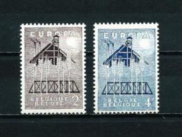 Bélgica  Nº Yvert  1025/6  En Nuevo - Belgien