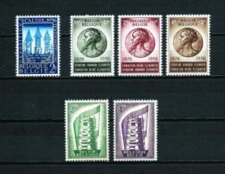 Bélgica  Nº Yvert  990-991/3-994/5  En Nuevo - Belgien