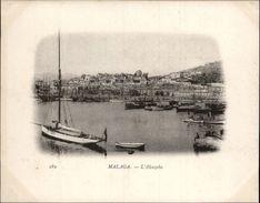 Campagne DUGUAY-TROUIN 1902-1903 - Expédition - MALAGA - ESPAGNE - Alcazaba - Málaga
