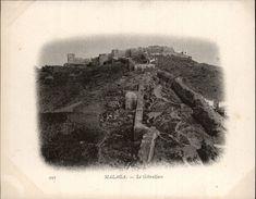Campagne DUGUAY-TROUIN 1902-1903 - Expédition - MALAGA - ESPAGNE - Gibralfaro - Málaga