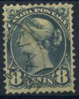 Canada 1893 Mi. 35 Usato 100% Regina Vittoria 8 C - Used Stamps