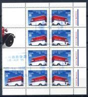 Canada 1990 Mi. 1179-1180 Minifoglio 100% Usato Posta - Blocks & Sheetlets