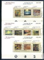 Canada 1995 Mi. Bl. 14-16 Foglietto 100% Usato Un Gruppo Di Sette - Blocks & Sheetlets