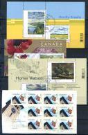 Canada 2000 Foglietto 100% Usato , Natura, Bandiera - Blocks & Sheetlets