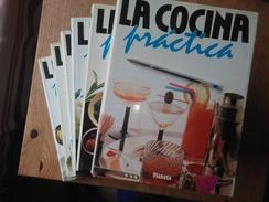 ENCICLOPEDIA COMPLETA COLECCION LA COCINA PRACTICA DE PLANETA,SON 6 GRANDES TOMOS, PESA 10 KILOS.EN BUEN ESTADO,SEMINUEV - Gastronomy