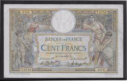 France 100 Francs Luc Olivier Merson - 5-12-1922 - Fayette N° 23-15  - TB - 1871-1952 Anciens Francs Circulés Au XXème