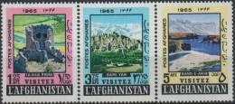 Afghanistan 1965 Stamps Visit Buddha Bamiyan Valley - Buddhism
