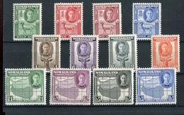 Somaliland KGVI 1942 Definitive Set Of 12 SG105/16 Mint Hinged - Somaliland (Protectorate ...-1959)