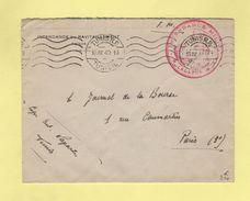 Tunis - Intendance Du Ravitaillement - 15-4-1940 - Tunesien (1888-1955)