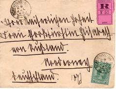29 JUL 93 Brief Met Kl.rond SCHEVENING:-BADH Naar Norderney Met Enkelfrankering NVPH41 - Periode 1891-1948 (Wilhelmina)