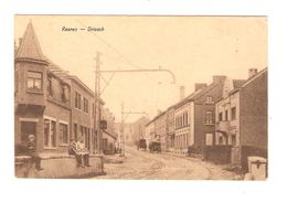 Cantons De L'Est-Ostkanton CP Raeren - Driesch Animée Voiture Charette Cheval Ligne Du Tram 1181 - Raeren