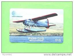 FALKLAND ISLANDS - Magnetic Phonecard/Aircraft - Flugzeuge