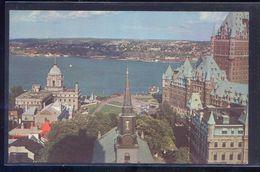 Canada. QC - Quebec. *A Bird's-eye View...* Nueva. - Québec - La Cité