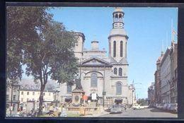 Canada. QC - Quebec. *La Basilique...* Escrita. - Québec - La Cité