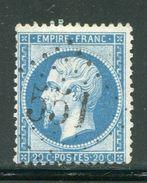 FRANCE- Y&T N°22- GC 551 (BOULOIRE 71) - Marcophilie (Timbres Détachés)