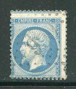 FRANCE- Y&T N°22- GC 999 (CHEMIRE LE GAUDIN 71) Assez Rare!!! - Marcophilie (Timbres Détachés)
