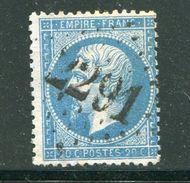 FRANCE- Y&T N°22- GC 2291 (MAYET SARTHE 71) - Marcophilie (Timbres Détachés)