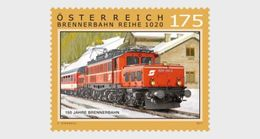 AUSTRIA 2017 150 Years Of The Brenner Railway - 1945-.... 2. Republik