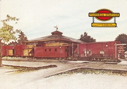 VICTORIAN STATION. RESTAURANTS. PURVEYOR OF PRIME RIB. A PORTABLE SPIRIT. USA EEUU. CIRCA 1950s -BLEUP - Hotel's & Restaurants