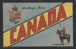 Canada. *Greetings From Canada* Nueva. - Canadá