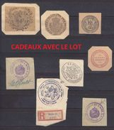 JOLI LOT DIVERS VIGNETTE - CACHET TRES ANCIEN - V/IMAGE - - Erinnophilie