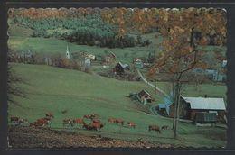 Canada. *Pittoresque Paysage De Campagne* Circulada 1972 + Air Mail Label. - Canadá