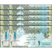 TWN - QATAR 28a - 1 Riyal 2008 DEALERS LOT X 10 UNC - Qatar
