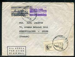 Liban - Enveloppe En Recommandé De Beyrouth Pour La France En 1952 - Ref D285 - Liban