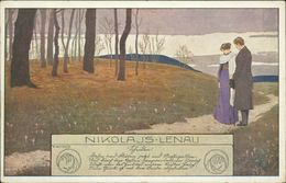 AK Nikolaus Lenau, E. Kutzer, BKWI 763-4, Ca. 1910er Jahre (27382) - Kutzer, Ernst