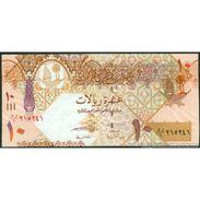 TWN - QATAR 30a - 10 Riyals 2008 Replacement UNC - Qatar