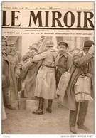 WW1/ Journal LE MIROIR  N°263 DU 8/12/1918 AU PONT DE KEHL LES ALSACIENS DE L'ARMEE ALLEMANDE REVIENNENT EN FRANCE - Journaux - Quotidiens