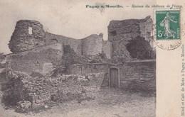 Pagny Sur Moselle Ruines Du Chateau De Preny Precurseur 1908 - Autres Communes