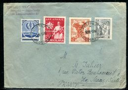 Yougoslavie - Enveloppe Pour La France En 1952 - Ref D308 - 1945-1992 Repubblica Socialista Federale Di Jugoslavia