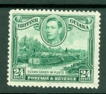 British Guiana: 1938/52   KGVI     SG312a   24c  [Wmk Sideways]    MH - Guyane Britannique (...-1966)