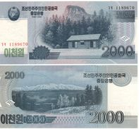 North KOREA    2'000 Won   (2008)   P65a   UNC - Corea Del Norte