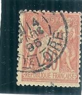 Type Sage Type II   N°94  40cts Orange  Côte 3€ - 1876-1898 Sage (Type II)