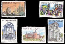 Belgium 2468/72** Tourisme  MNH - Neufs