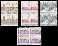 Belgium 2146/49** X 4  Abbayes   MNH - Belgique