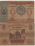 NETHERLANDS INDIES   1 Gulden   P108   Dated  15.6.1940  Vf - Indonésie
