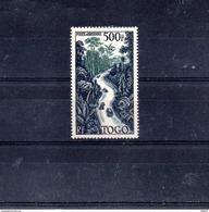 TOGO A 23**  SUR UNE ROUTE A TRAVERS LA FORET - Togo (1914-1960)