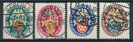 D. Reich Nr. 398-401 ~ Michel 160,-- Euro - Allemagne