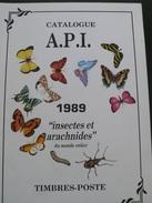 Catalogue API - Insectes Et Arachnides - 1989 - 190 Pages - Port 3.50€ - Specialized Literature