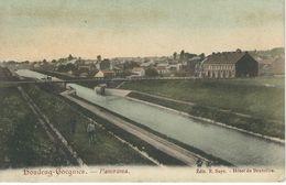 HOUDENG-GOEGNIES : Panorama - TRES RARE VARIANTE - Cachet De La Poste 1907 - La Louvière