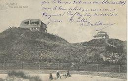 LA PANNE : Villas Dans Les Dunes - TRES RARE VARIANTE - Cachet De La Poste 1906 - De Panne