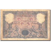 France, 100 Francs, 100 F 1888-1909 ''Bleu Et Rose'', 1891, 1891-05-04, KM:65b - 1871-1952 Anciens Francs Circulés Au XXème