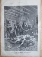 Gravure 1886   Salon De 1886 La Mort De  Pichegru   Tableau De Georges Moreau  Cimetiere De Clamart - Zonder Classificatie