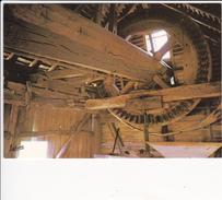 Le Moulin De Maves - Vue Intérieure: Arbre Et Engrenages - France