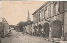 STAINVILLE  La Mairie Et L'Eglise - France